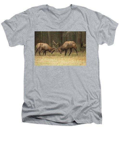 Sparring Men's V-Neck T-Shirt