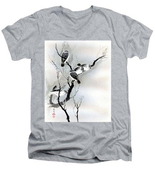 Sparrows Men's V-Neck T-Shirt