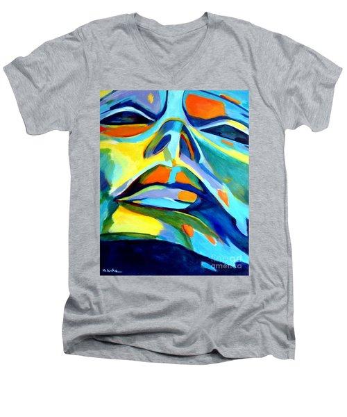 Speechless Yearning Men's V-Neck T-Shirt