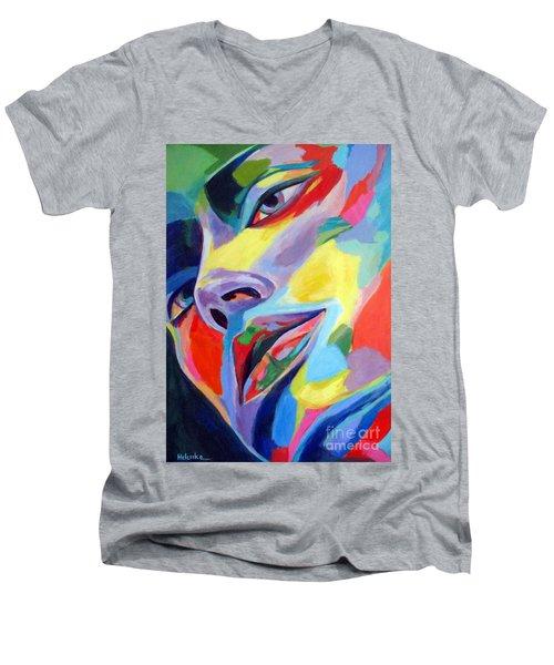 Spellbound Heart Men's V-Neck T-Shirt