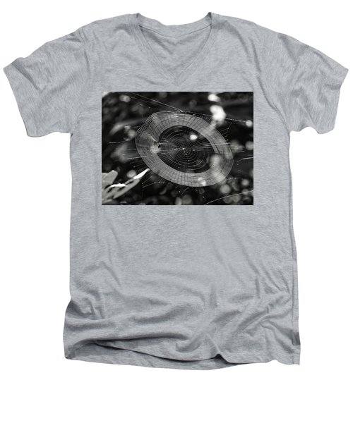 Spinning My Web Men's V-Neck T-Shirt
