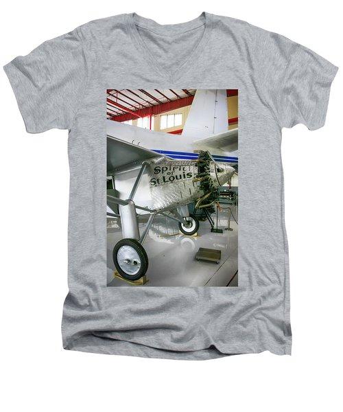 Spirit In Color Men's V-Neck T-Shirt
