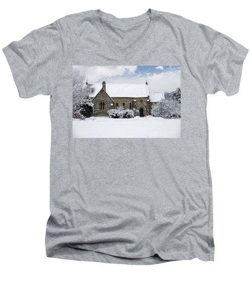 Spring Grove Chapel Men's V-Neck T-Shirt