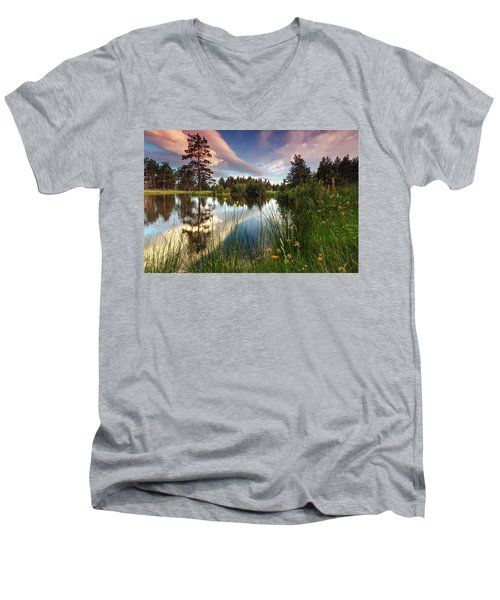 Spring Lake Men's V-Neck T-Shirt