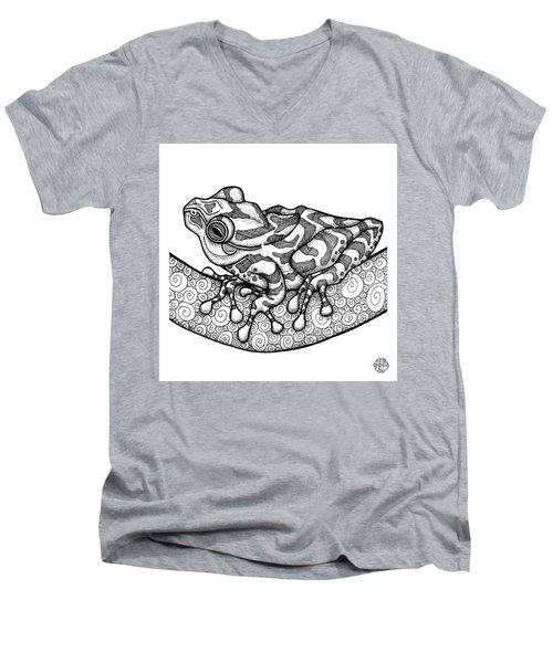 Spring Peeper Men's V-Neck T-Shirt