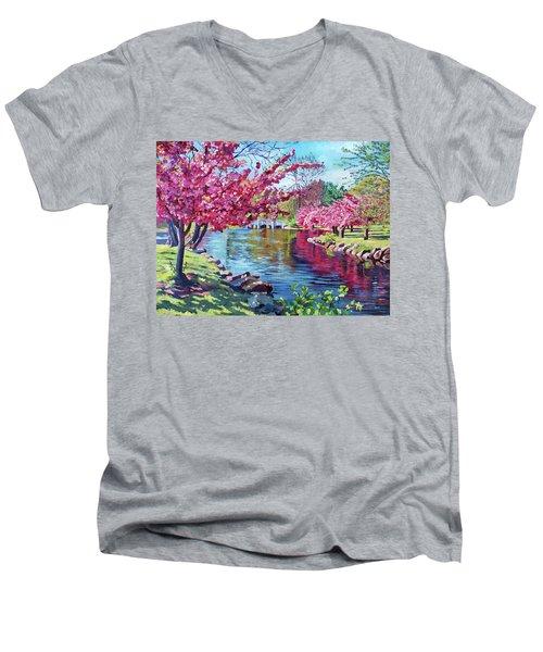 Spring Soliloquy Men's V-Neck T-Shirt