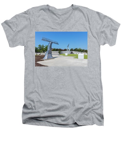 Springfield Village Park - Augusta Ga Men's V-Neck T-Shirt