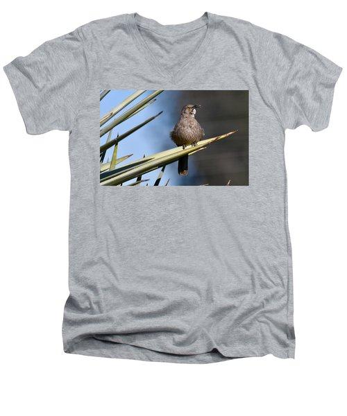 Squawker Men's V-Neck T-Shirt
