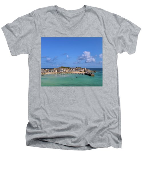 St Ives Cornwall - General View Men's V-Neck T-Shirt