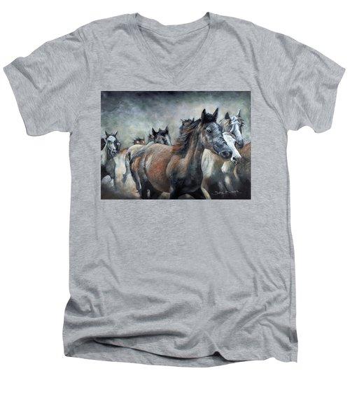 Stampede Men's V-Neck T-Shirt