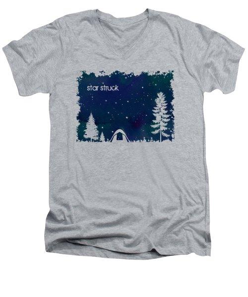 Star Struck Men's V-Neck T-Shirt