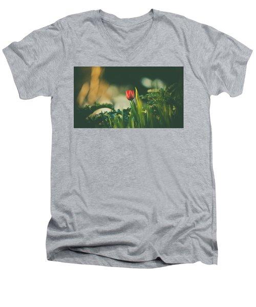 Start Of Spring Men's V-Neck T-Shirt