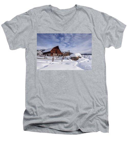 Steamboat Springs Men's V-Neck T-Shirt