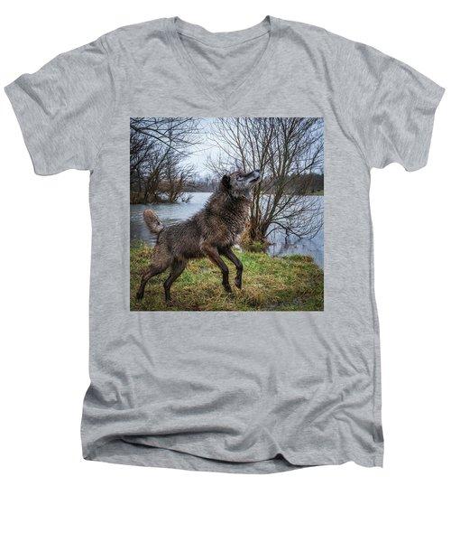 Stick Get It Men's V-Neck T-Shirt