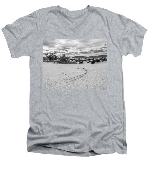 Sticky Sand Men's V-Neck T-Shirt