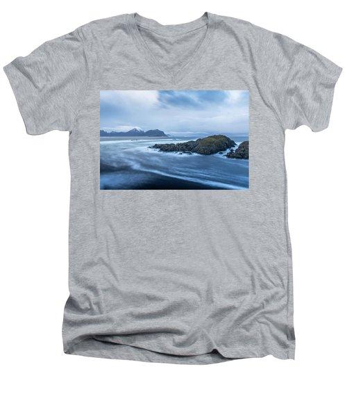 Still Rocks In The Storm Men's V-Neck T-Shirt