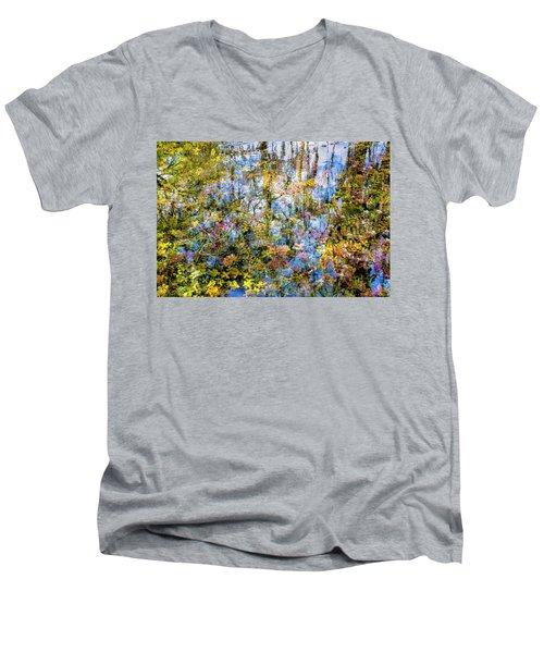 Stillness Holds Everything Men's V-Neck T-Shirt