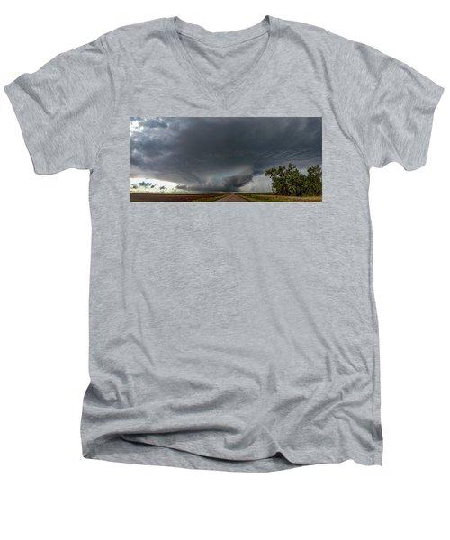 Storm Chasin In Nader Alley 008 Men's V-Neck T-Shirt