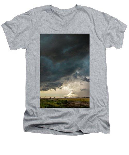 Storm Chasin In Nader Alley 012 Men's V-Neck T-Shirt