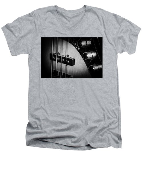 Men's V-Neck T-Shirt featuring the photograph Strings Series 22 by David Morefield