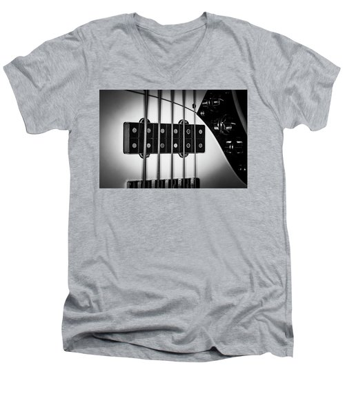 Men's V-Neck T-Shirt featuring the photograph Strings Series 23 by David Morefield