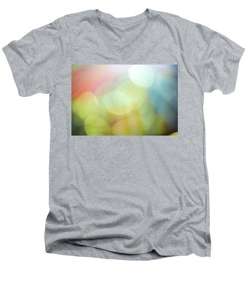 Summer Day Iv Men's V-Neck T-Shirt