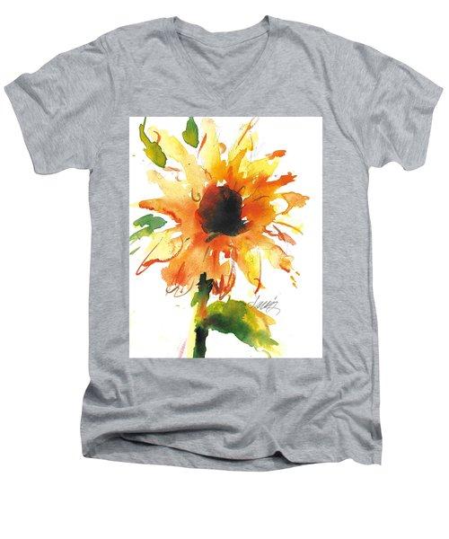 Sunflower Too - A Study Men's V-Neck T-Shirt