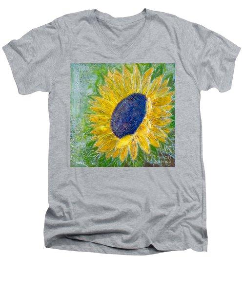 Sunflower Praises Men's V-Neck T-Shirt