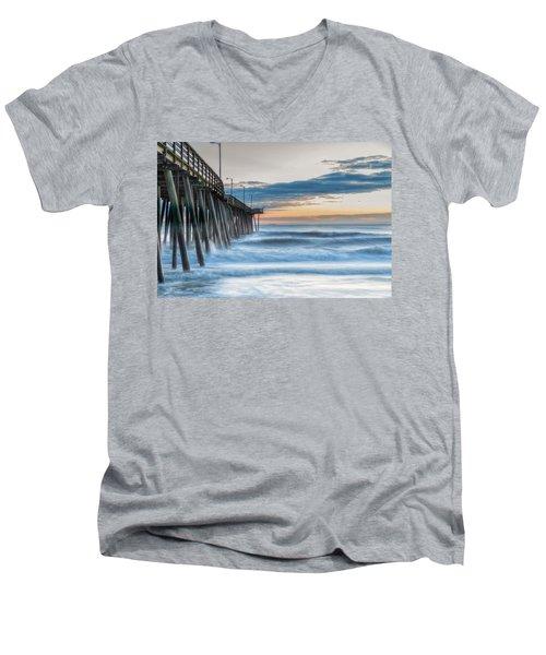 Sunrise Bliss Men's V-Neck T-Shirt