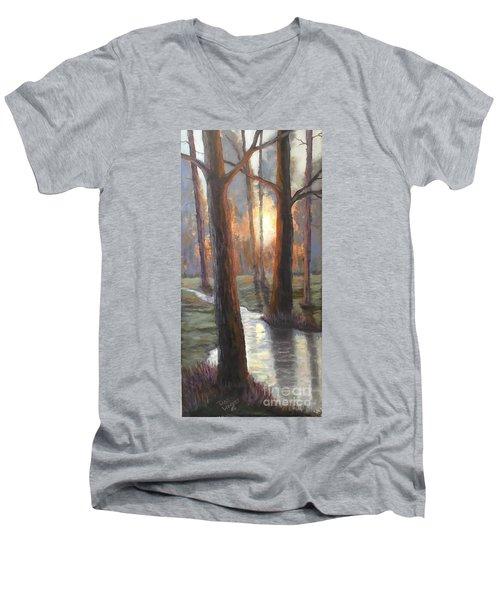 Sunrise Creek Men's V-Neck T-Shirt