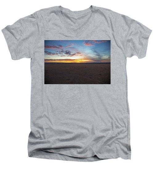 Sunrise Over The Mara Men's V-Neck T-Shirt