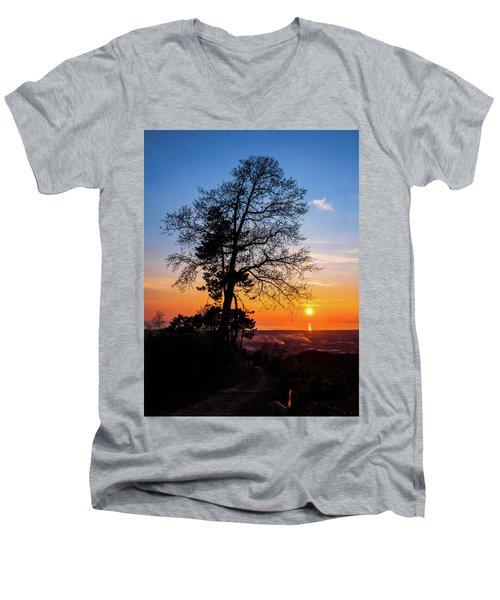 Sunset - Monte D'oro Men's V-Neck T-Shirt