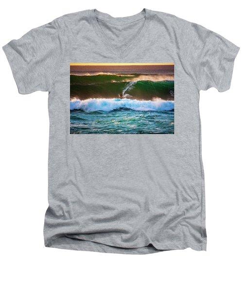Sunset Ride Men's V-Neck T-Shirt