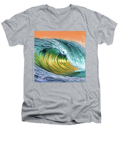 Surf Into The Sunset Men's V-Neck T-Shirt