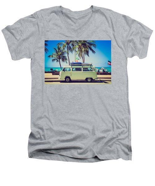 Surfer Van Men's V-Neck T-Shirt
