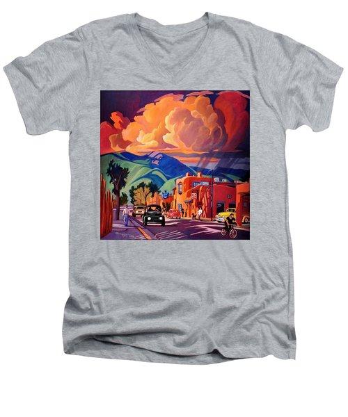 Taos Inn Monsoon Men's V-Neck T-Shirt