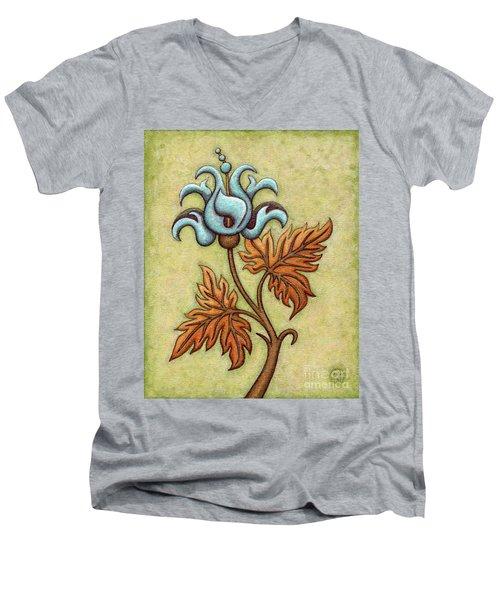 Tapestry Flower 2 Men's V-Neck T-Shirt