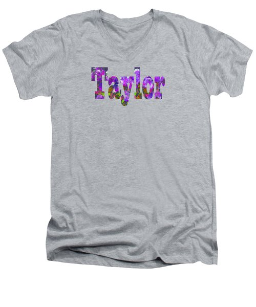 Taylor Men's V-Neck T-Shirt