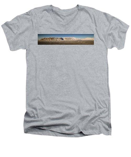 Tempelfjord Svalbard Men's V-Neck T-Shirt