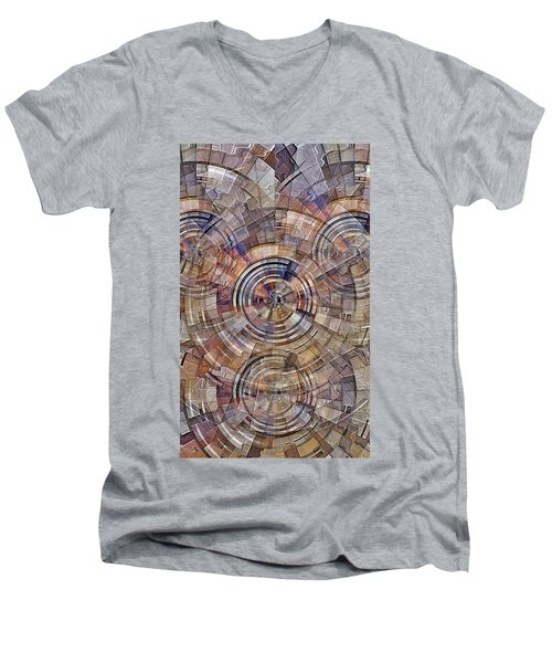 Test Pattern Men's V-Neck T-Shirt