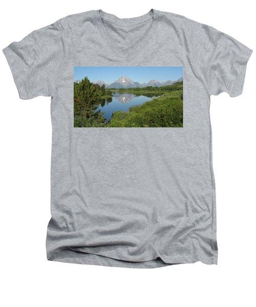 Teton Moment Men's V-Neck T-Shirt