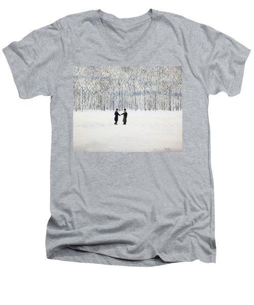 The Agreement Men's V-Neck T-Shirt