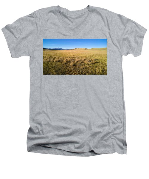 The Beautiful Valley Men's V-Neck T-Shirt