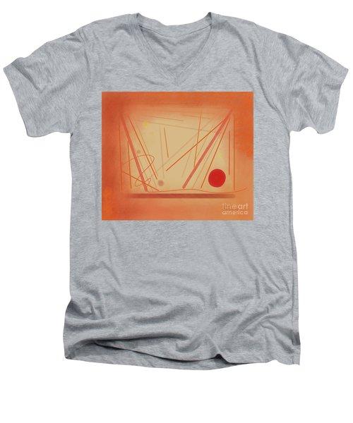 The Beginning Music Student Men's V-Neck T-Shirt