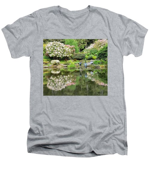 The Birds Of Shore Acres Men's V-Neck T-Shirt