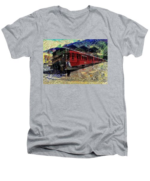 The Conductor Men's V-Neck T-Shirt