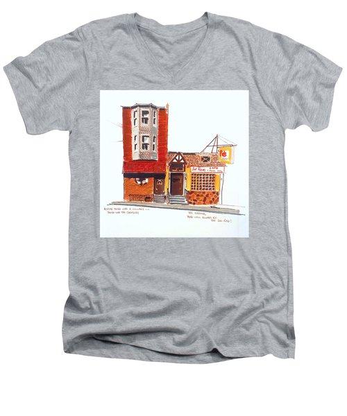 The Del Rose Men's V-Neck T-Shirt