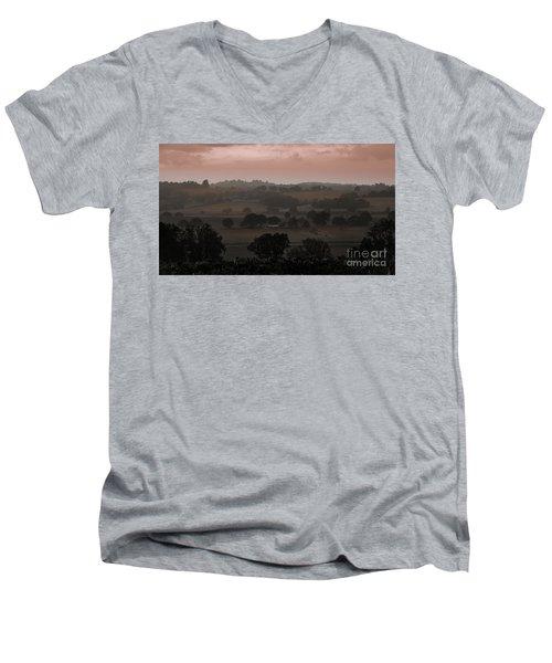 The English Landscape Men's V-Neck T-Shirt