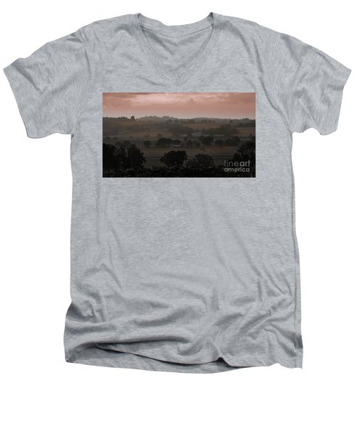 The English Landscape Men's V-Neck T-Shirt