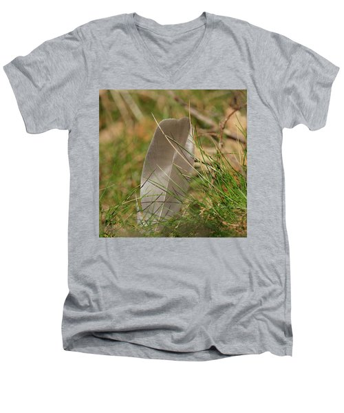 The Feather Men's V-Neck T-Shirt